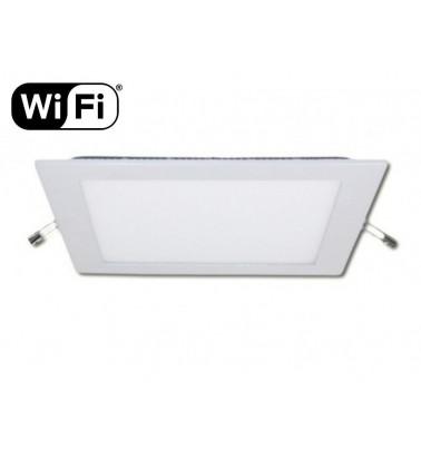 18W LED Šviesos Panelė, 2.4GHz RF/WiFi ready, keičianti šviesos spektrą ir šviesos intensyvumą, 225x225mm