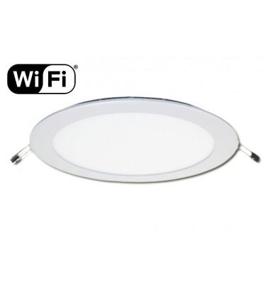 18W LED Šviesos Panelė, 2.4GHz RF/WiFi ready, keičianti šviesos spektrą ir šviesos intensyvumą, ∅225mm