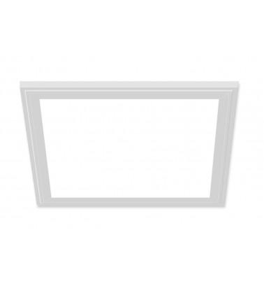 18W LED Šviesos Panelė, baltas rėmas, 120°, šaltai balta šviesa, 295x295mm