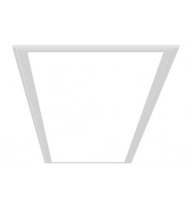 24W LED Šviesos Panelė, baltas rėmas, 120°, šiltai balta šviesa, 295x595mm