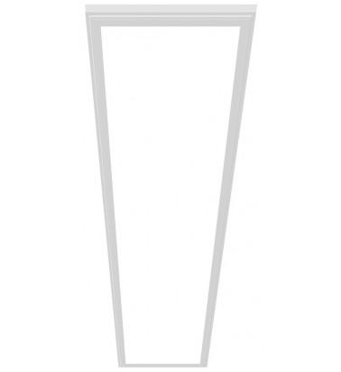 48W LED Šviesos Panelė, baltas rėmas, 120°, šaltai balta šviesa, 295x1195mm
