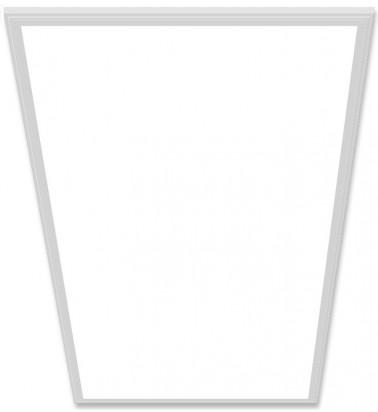 72W LED Šviesos Panelė, baltas rėmas, 120°, šiltai balta šviesa, 595x1195mm