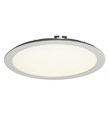 25W LED Šviesos Panelė, 120°, šiltai balta šviesa, ∅300mm
