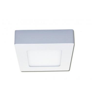 6W LED Šviesos Panelė, 120°, šiltai balta šviesa (virštinkinė), 120x120mm