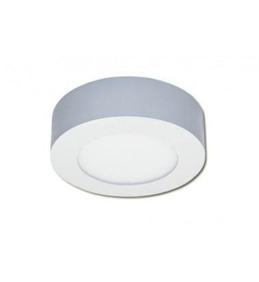 6W LED Šviesos Panelė, 120°, šiltai balta šviesa (virštinkinė), ∅120mm