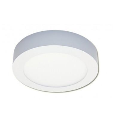 12W LED Šviesos Panelė, 120°, šiltai balta šviesa (virštinkinė), ∅172mm