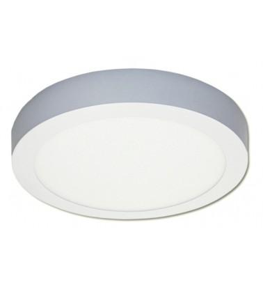 18W LED Šviesos Panelė, 120°, šiltai balta šviesa (virštinkinė), ∅225mm