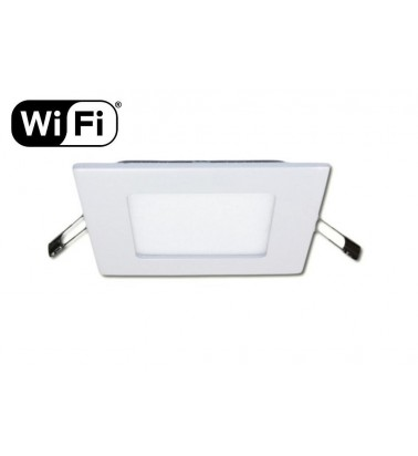 6W LED Panel, 120°, 2.4GHz RF/WiFi ready, adjustable light color temperature, 120x120mm