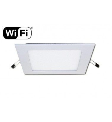 12W LED Panel, 120°, 2.4GHz RF/WiFi ready, adjustable light color temperature, 174x174mm