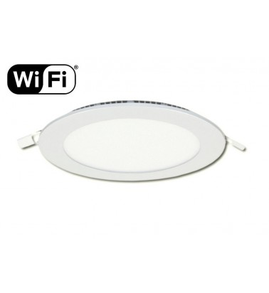 12W LED Panel, 120°, 2.4GHz RF/WiFi ready, adjustable light color temperature, ∅170mm