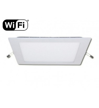 18W LED Panel, 120°, 2.4GHz RF/WiFi ready, adjustable light color temperature, 225x225mm