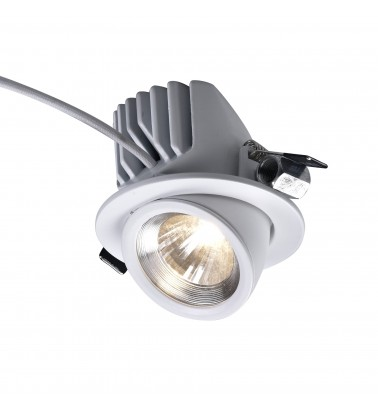 12W Spotlight, built in, warm white light