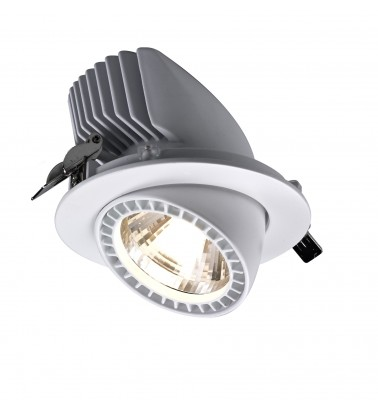 30W Spotlight, built in, warm white light