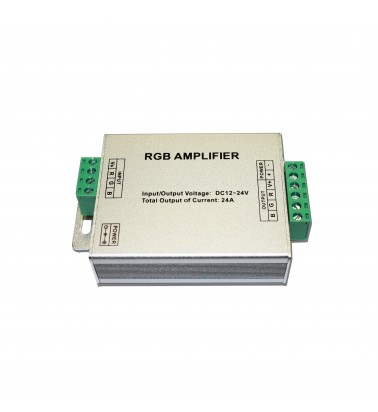 Strip amplifier, 288W/576W, 12V/24V