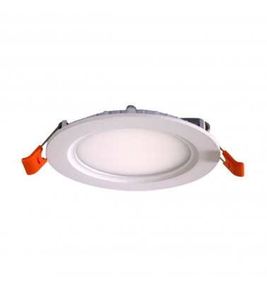 7W LED Panel, 120°, warm white light, ∅120mm