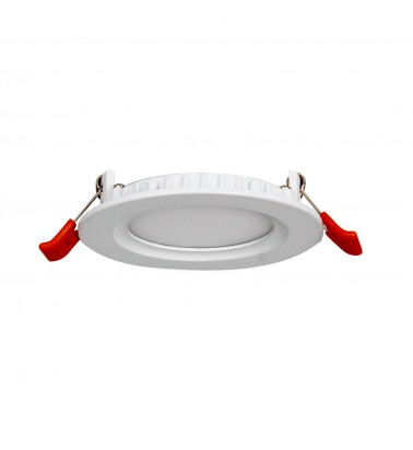 5W LED Panel, 120°, warm white light, ∅95mm