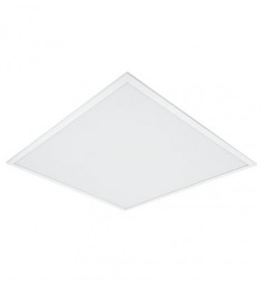 "40W LED Panel ""OSRAM"", 120°, warm white light (surface-mounted), 595x595mm"