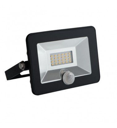"10W Floodlight with motion sensor ""Kanlux"", 110°, day light"