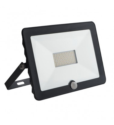 "50W Floodlight with motion sensor ""Kanlux"", 110°, day light"