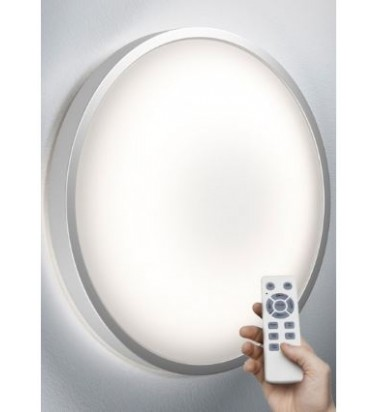 """22W surface mounted light """"OSRAM SILARA"""", dimmable, Ø410mm"""