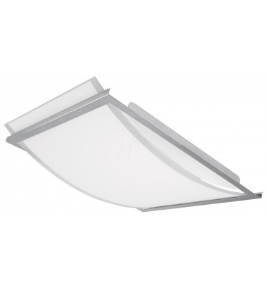 "19W Surface mounted light ""OSRAM LUNIVE ARC"", warm white light 393x300mm"