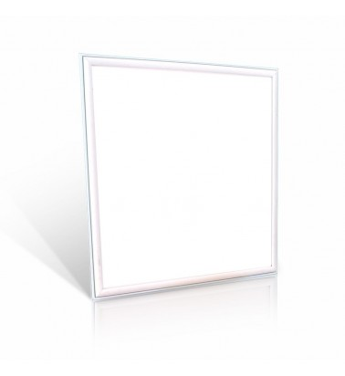 45W LED Panel, white frame, 120°, warm white light, 595x595mm