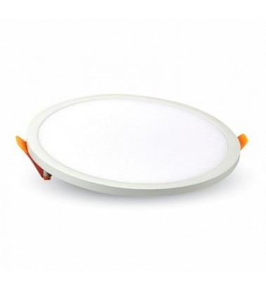 8W LED Panel, 120°, warm white light, ∅75mm