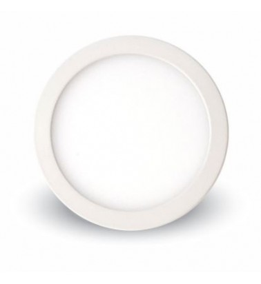 6W LED Panel, 120°, warm white light (surface-mounted), ∅90mm