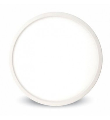 18W LED Panel, 120°, warm white light (surface-mounted), ∅190mm, V-TAC