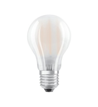 8.5W, E27, 360°, warm light, OSRAM