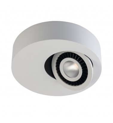 7W LED Spotlight, surface mounted, warm white light