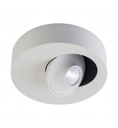 7W LED Tracklight, surface mounted, warm white light