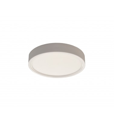 12W LED Panel, 120°, warm white light (surface-mounted), ∅165mm