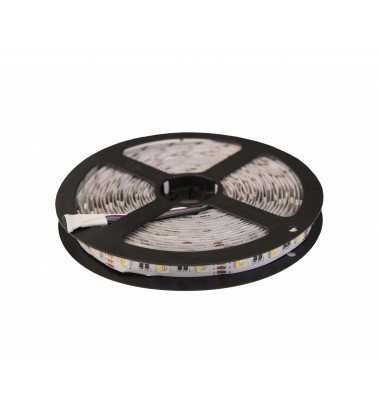 14.4W LED Strip, RGBWW (changing colors), IP20, 12V