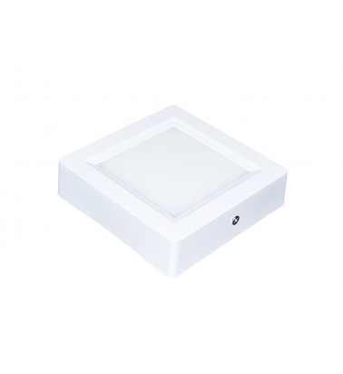8W LED Panel, 120°, warm white light (surface-mounted), 110x110mm