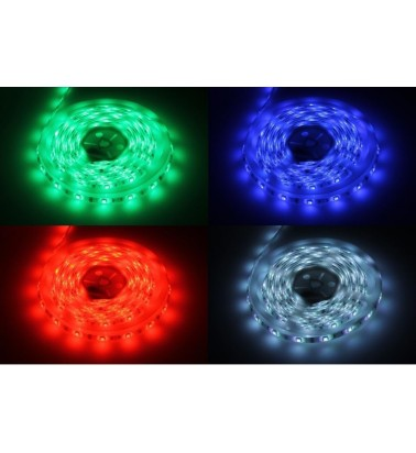 14.4W LED Strip, IP65, color changing