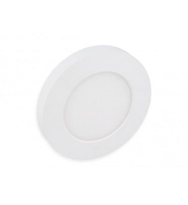 6W LED Panel, 120°, warm white light, ∅113mm