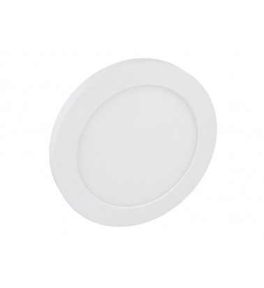 12W LED Panel, 120°, warm white light, ∅160mm