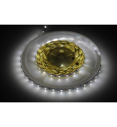 6W LED Strip, 6000K (cold white light), IP20, 12V, 5m