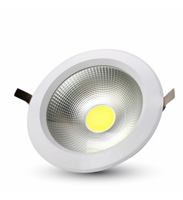 "10W LED LED Ceiling Light ""V-TAC"", 120°, warm white light"