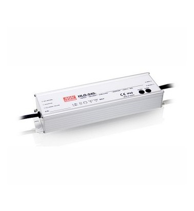 240W Power supply, 24V, Mean Well, IP67