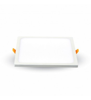 "8W LED Panel ""V-TAC Trimless"", 110°, warm white light, 95x95mm"