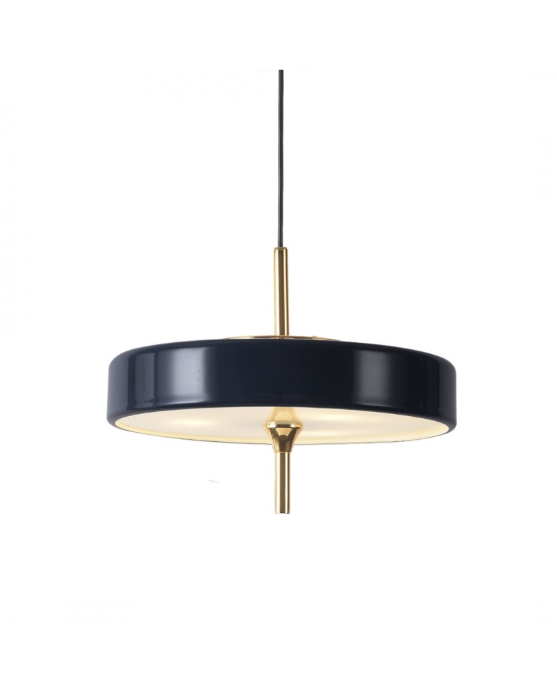 "Pendant lamp ""JAZZ BLUE"", 3xG9"
