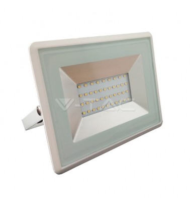 "30W LED Floodlight ""V-TAC"", 110°, warm white light"