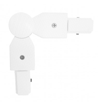"Track connector ""Slim"", white, 2 sides"
