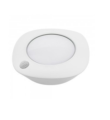 "1.5W LED Surface mounted light ""V-TAC"" with motion sencor, Ø80mm"