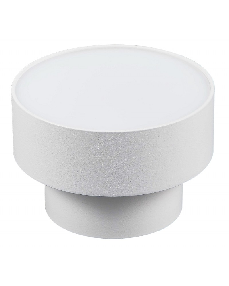 12W Surface mounted light, 105°, warm white light