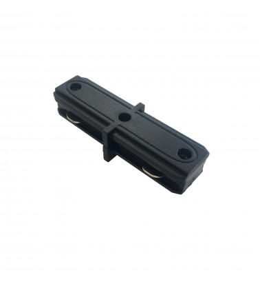 "Track connector ""Slim"", black, 2 sides"