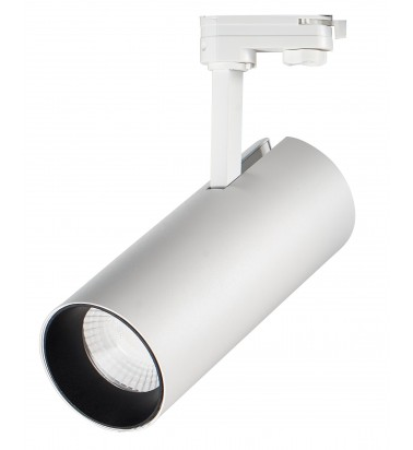30W LED Tracklight, track mounted, warm white light