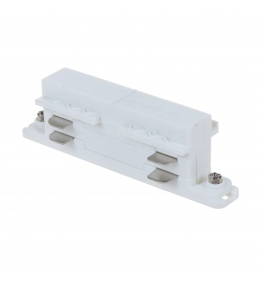 "Track connector ""Magnum CITY"", white, 3 phases"